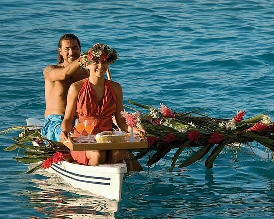 水上コテージ フォーシーズンズリゾート ボラボラ