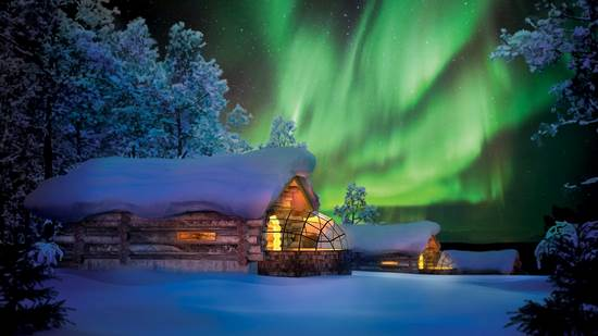 フィンランド ロマンティックホテル カクスラウッタネン イグロー イースト ヴィレッジ