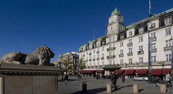 ノルウェーの最高級ホテル グランドホテル オスロ